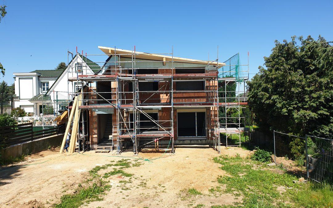 Neubau Zweifamilienhaus in Bornheim