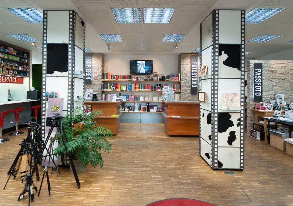 Umbau eines Fotoladens